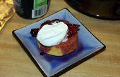 10 minute gestoofde Berry Shortcake