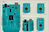 Arduino Nano, Pro, mini, Uno, 1280,2560 bibliotheek voor Proteus (Updated versie)