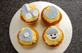 Hoe maak je schattige Baby Cupcake Toppers