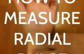 Hoe meet je radiale Pulse