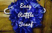Super gemakkelijk Ruffle sjaal