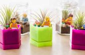 Hoe maak je mini planter in glazen pot voor het decoreren van uw leren ruimte