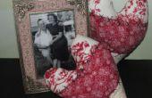 Hoe maak je Vintage hart kussens