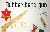 Rubber Band Gun multi-shot