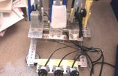Zelflerende Rock - Paper - Scissors Robot van Lego Mindstorms NXT!