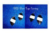 Duct Tape Fringe Earring