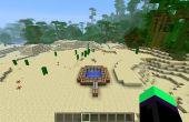 Minecraft mens lancering van tnt kanon (eenvoudige)