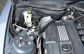 BMW Z4 E86 DSC ABS pomp/module verwijderen.