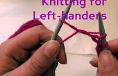 Breien voor linker-handers