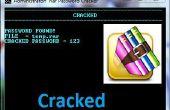 Rar bestand numerieke wachtwoord Kladblok