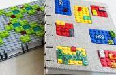 2 LEGO tijdschriften - Koptische Boekbinden
