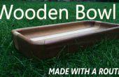 Hoe maak je een houten kom met een Router