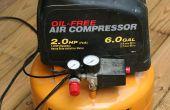 Vervanging van de toezichthouder op een pannenkoek Air Compressor