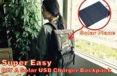Super gemakkelijk DIY A Solar USB Charger rugzak!