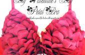 DIY Valentines Day Petal beha