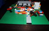 LittleBits Lego huis met garage deuropener, windmolens en deurbel