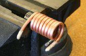 Hoe Bend koperen pijp en leidingen zonder het verpletteren