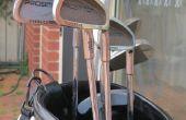 Verwijderen van roest van golfclubs