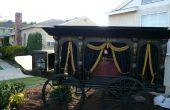 Antieke paard getrokken Hearse - Halloween Prop Replica
