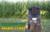 Beton Tiki Rocket Stove