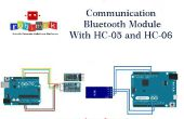 Communicatie-Bluetooth-Module met HC-05 HC-06