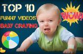 Video van de grappige baby's huilen grappige video's voor kinderen