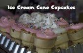 Ijs kegel Cupcakes maken