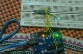 Programmeren van AVR met Arduino als ISP zonder Bootloader en externe Crystal