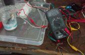 Maken van een oplaadbare 2 volt aluminium/Titanium Ion accu