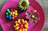 Kleurrijke Chocolade Cupcakes