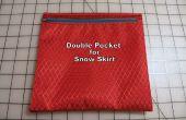 Hoe maak je een dubbele zak voor een sneeuw-rok