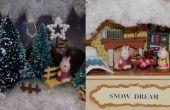 DIY miniatuur poppenhuis in een tinnen doos