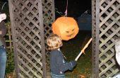Maken van een noodsituatie Halloween Pinata
