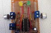 Geluid Sensor met behulp van A LM324