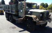 Hoe het wijzigen van de olie op een Deuce en een HALF (M35 Cargo truck)