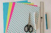 DIY papier ambachten: Origami sieraden doos Tutorial
