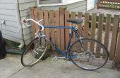 Ter vervanging van fiets band en buis op een racefiets