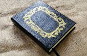 DIY aangepast boek Journal