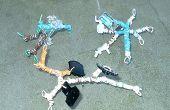 Maken van een speelgoed Robot Kit