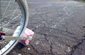 Krijt-O-Lot, de Mega stoep fiets krijt Grinder met straat krijt!