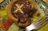 Inverse Peanut Butter Cup taart