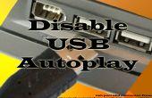 Automatisch afspelen in USB en CD-station in Windows XP uitschakelen