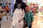 Bruid van Frankenstein illusie kostuum voor Halloween