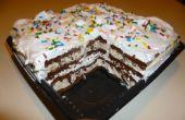 Super eenvoudige Ice Cream Cake