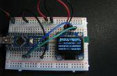 OLED i2c display met arduino