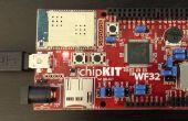 Weergeven weer en het gebruik van de locatie chipKIT WF32 en LabVIEW