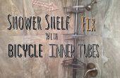Douche plank Fix met fiets binnenband