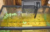 Aquaria zijn moeilijk te reinigen. Wat zou u doen om het zelf schoon te maken te krijgen.