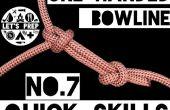 Snelle vaardigheden #7: Hoe te binden de One-Handed paalsteek