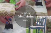 Hoe te schilderen van een stoel van stof